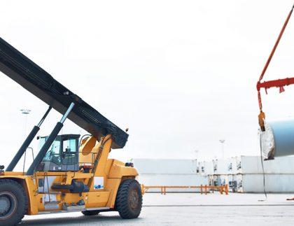 Consejos para transportar maquinaria pesada